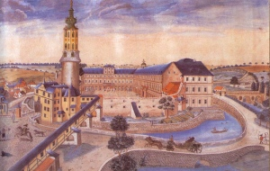 The Wilhelmsburg in Weimar