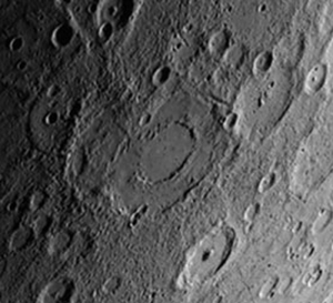 Bach Crater