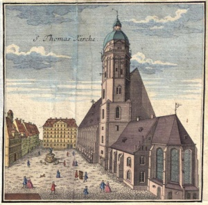 St. Thomas Church in Leipzig