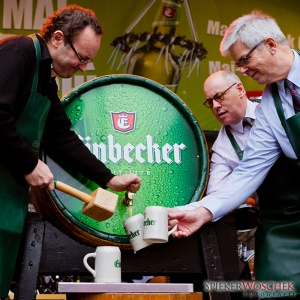 Tapping the Maibock