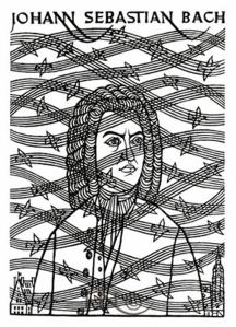 Woodcut by Hnizdovsky, 1971