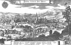 Weimar in 1715